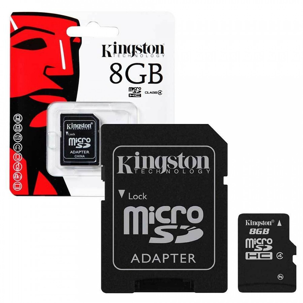 Thẻ nhớ Kingston 8GB (Class 10)