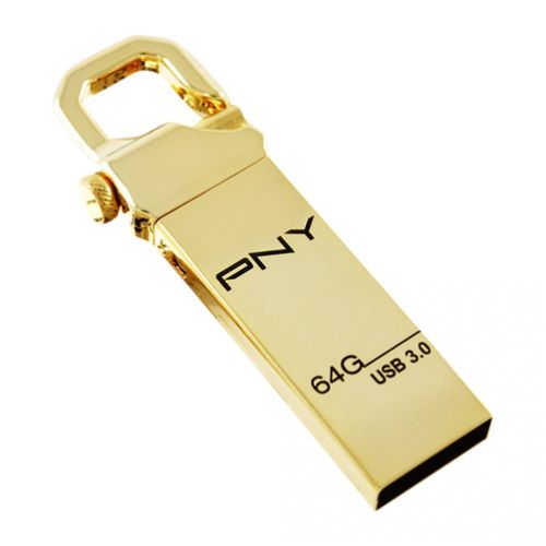 PNY - Attache Gold Hook 3.0 64GB