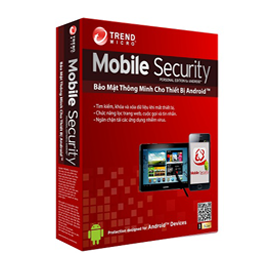Trend Micro Mobile Security (1Dev/1Year)