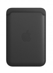 Ví da iphone Magsafe - Đen (iPhone Leather Wallet with MagSafe - Black)