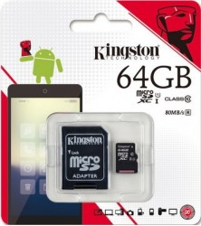 Thẻ nhớ Kingston 64GB (Class 10)