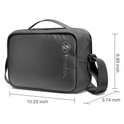 TÚI ĐEO ĐA NĂNG TOMTOC (USA) CROSSBODY FOR TECH ACCESSORIES AND IPAD 10.5/PRO 11INCH/TABLET/NOTEBOOK 11INCH