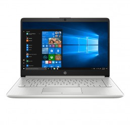 "HP 14s-cf0096TU (6ZF41PA) (Pen N5000/4GB RAM/1TB HDD/14""HD/Win10/Bạc)"